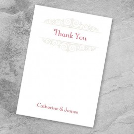 Once Upon A Time Thank You Card