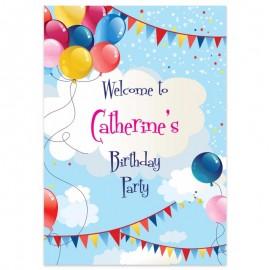 Balloon Fun Welcome Sign