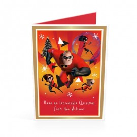 Disney The Incredibles Christmas Cards