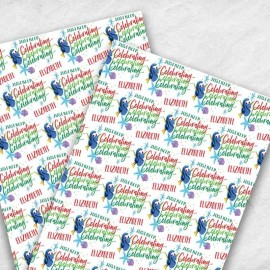 Disney Finding Dory Christmas Gift Wrap