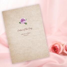 Rosebud Order of Service
