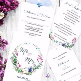Godiva Wedding Invitation