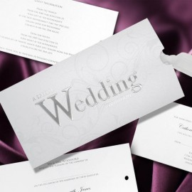 Everlasting Love Wedding Invitation