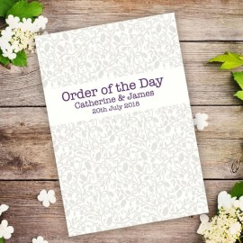 Simplicity Order of Service