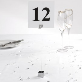 Square Table Number Holder - Pack of 12