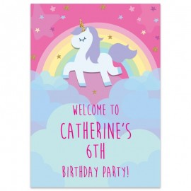 Unicorn Sparkle Welcome Sign