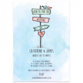 Love This Way Wedding Invitations