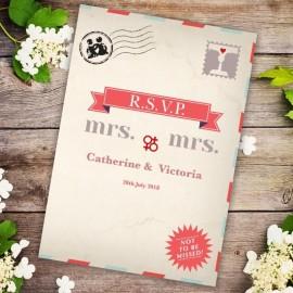 Kiss Kiss RSVP Card