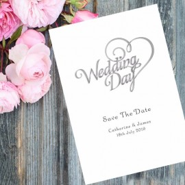 Wedding Day Save the Date Card