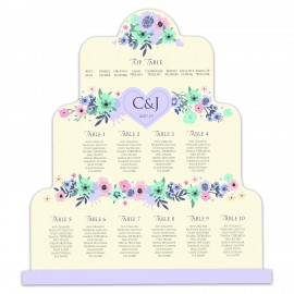 Wedding Cake Wedding Table Plan