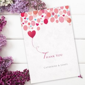 Follow Your Heart Thank You Card