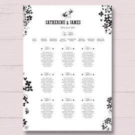 Windsor Wedding Table Plan