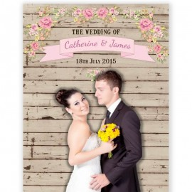 Wooden Photo Backdrop
