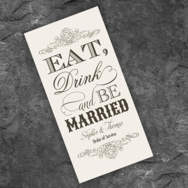 Almond Eat Drink & Be Married Order of Service