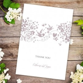 Blackbirds Thank You Card