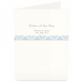 Blue Eternity Order of Service