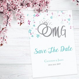 Getting Hitched Save the Date Card