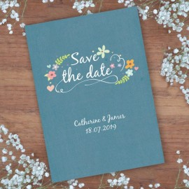 Book of Love Save the Date Card