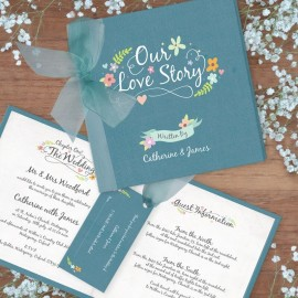 Book of Love Wedding Invitation
