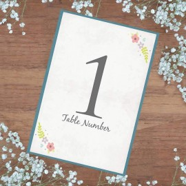 Book of Love Table Numbers - Pack of 10