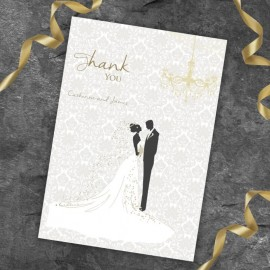 Bride & Groom Thank You Card