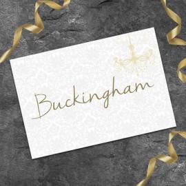Bride & Groom Table Names - Pack of 10
