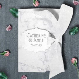 Marble Wedding Invitation