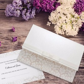 Wedding Damask Wedding Invitation
