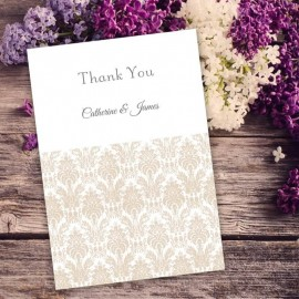 Champagne Eternity Thank You Card