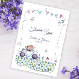 Our Big Day Thank You Card