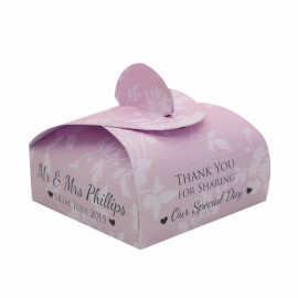 Pink Cupid Favour Box - Pack of 12