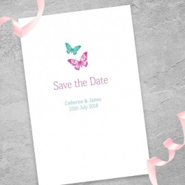 Dazzle Save the Date Card