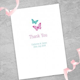 Dazzle Thank You Card