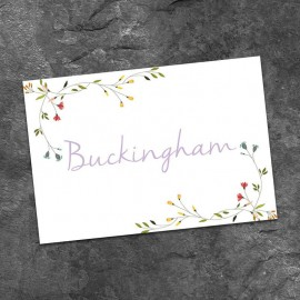Delicate Table Names - Pack of 10