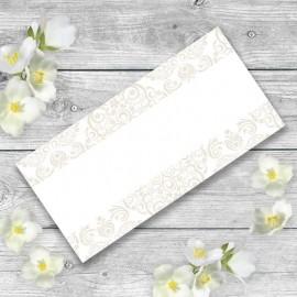 Cream Divine Wedding Place Card