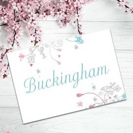 Elegance Table Names - Pack of 10