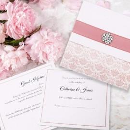 Pink Eternity Wedding Invitation