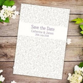 Simplicity Save the Date Card