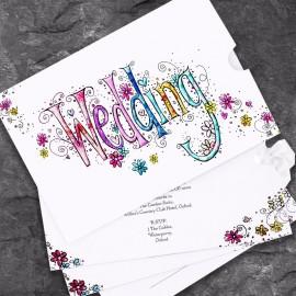 Wedding Bliss Wedding Invitation