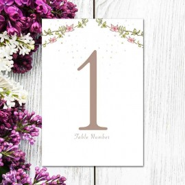 Four Ever Table Numbers - Pack of 10