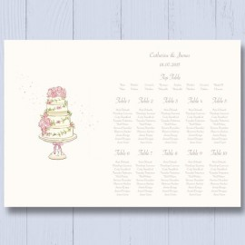Four Ever Wedding Table Plan