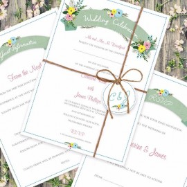 Marriage Vows Wedding Invitation
