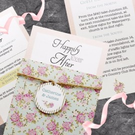 Happy Days Wedding Invitation