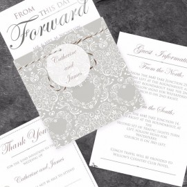From This Day Wedding Invitation