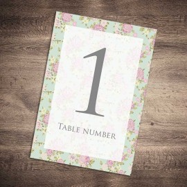 Happy Days Table Numbers - Pack of 10
