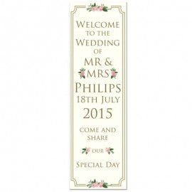 Honeymoon Pop-Up Wedding Sign