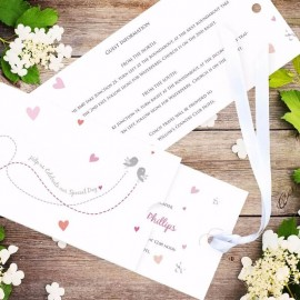 Je Taime Wedding Invitation
