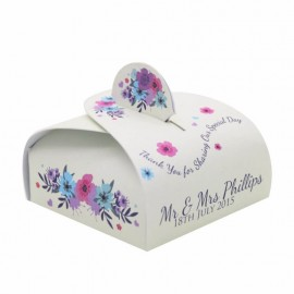 Keepsake Wrap Favour Box - Pack of 12