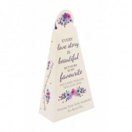 Keepsake Pyramid Favour Box - Pack of 12