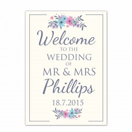 Keepsake Small Welcome Sign
